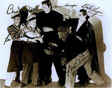 RARE STILL SIGNED THE CAST FROM ABBOTT AND COSTELLO MEET FRANKENSTEIN