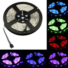 5M RGB 5050 SMD waterproof 300 LED Light Strip Flexible + IR Remote 12V power