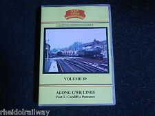 Cardiff,Penzance,Along GWR Lines Part 3 vol 89 DVD B&R Bristol Staple hill