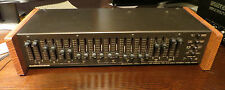 AUDIO CONTROL C-22 Octave Equalizer W/ Subsonic Filter. BEAUTIFUL VINTAGE