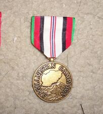 AFGHANISTAN CAMPAIGN MEDAL, TYPE 2,CURRENT, WITH OUT WORD MEDAL, FULL SIZE