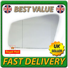 Left Passenger Side Asph Wing Door Mirror Glass for MERCEDES E-Class W212 09-11