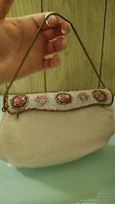 VINTAGE Josef Hand Beaded Purse/Clutch Made in France AMAZING CONDITION