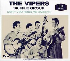 THE VIPERS SKIFFLE GROUP DON'T YOU ROCK ME DADDY-O - 2 CD BOX SET