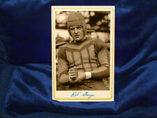Football Great Red Grange Cabinet Card Photo Vintage Gridiron Galloping Ghost