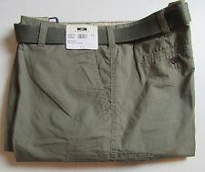 $79 New Jos A Bank JOSEPH ABBOUD cotton cargo shorts w/ belt 36 W in Olive