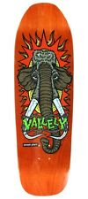 Street Plant Mike Vallely WOOLLY MAMMOTH Skateboard Deck ORANGE STAIN New Deal
