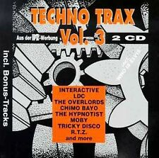 Various Artists Techno Trax 3 CD