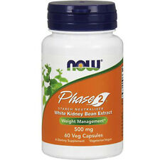 Phase 2 Starch Blocker 60 Vcaps 500 mg by Now Foods