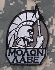 Mil-Spec Monkey Molon Labe Full Morale Patch SWAT Hook Back