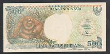1992 Indonesia 500 Rupiah (Orang Utan) - UNC