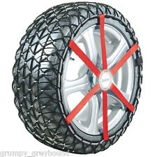 "NEW Michelin Easy Grip Snow Chain Winter Tyre Chains L13 6 42 12 2B 16"" 195/60"