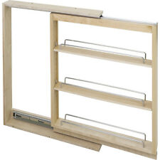 """Kitchen Cabinet-Base Cabinet Filler Pullout- 6"""" x 23"""" x 30""""-Hard Maple-  # BFPO6"""