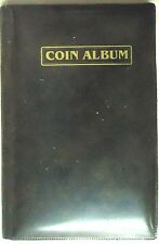 "MINI COIN ALBUM - 60 COIN HOLDING CAPACITY - 2"" X 2"" COIN HOLDERS CAN BE USED"