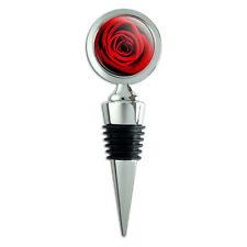 Red Rose Wine Bottle Stopper