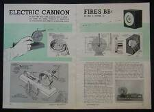 BB CANNON Electric Gun easy How-To build PLANS Magazine Feed
