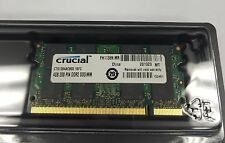 4GB  MEMORY DDR2 PC2-6400 800MHz 200PIN SO DIMM CRUCIAL CT51264AC.16FC
