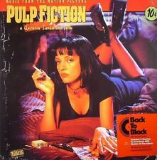 "Pulp Fiction Soundtrack Reissue 180 g - Vinyl LP 12"" - New and Factory Sealed"
