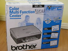 NEW Brother DCP-110c Color Flatbed Multi-Function Center All In One Printer