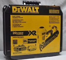 NEW DEWALT DCN692M1 20 VOLT MAX CORDLESS DUAL SPEED FRAMING NAILER TOOL KIT SALE