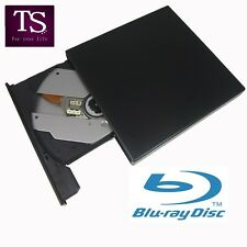 External USB 2.0 Blu-ray Combo Player BD-R BD-ROM DVD RW Burner Writer Drive