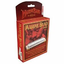 HOHNER MARINE BAND 1896/20 HARMONICA G HARP  FACTORY SEALED NEW WITH CASE