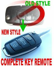 R8 STYLE CHIP KEY REMOTE FOB FOR 97-2005 AUDI A3 A4 A6 TT 231N 231A 231R 231B