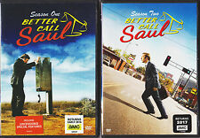 BETTER CALL SAUL SEASON 1 & 2 DVD TV SERIES NEW + SPECIAL FEATURES REGION 1 USA.