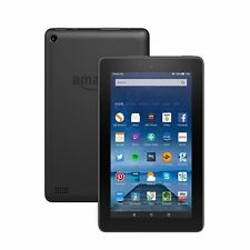 New Amazon Kindle Fire 7 inch 8GB, Wi-Fi Tablet - Black Latest Model 5th GEN
