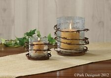 Barbed Wire Votive Candle Holder, by Park Designs