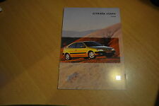 CATALOGUE Citroën Xsara Coupé de 1998