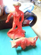 Great Collectible 1950's Statue/Figures...MATADOR and BULL