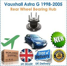 Fits Vauxhall Astra G MK4 1998 2005 Rear Wheel Bearing 4 Stud NO ABS NEW OEQ