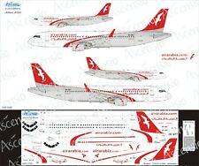 Airbus A320 1/144 AirArabia decal by Ascensio 320-020