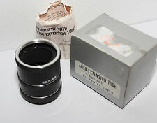 SET of THREE M42mm SCREW MOUNT AUTO MACRO TUBES for CLOSE UP PICTURES , BOXED