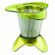 Tovolo In Mug Tea Infuser With Drip Catcher Base