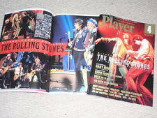 ROLLING STONES Japan PLAYER magazine 04/14 HUGE cover story GARY MOORE