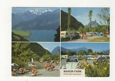 Manor Farm Unterseen Interlaken Switzerland 1971 Postcard 448a