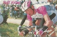 RARE / CARTE TELEPHONE - ROLF ALDAG / TOUR DE FRANCE CYCLISME VELO