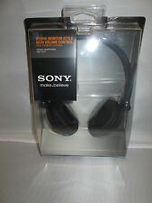 Sony NEW MDR-V250V Monitor Series Headphones with In-line Volume Control MDRV250