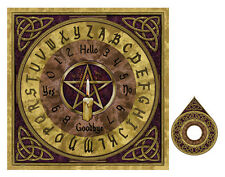 PENTAGRAM OUIJA SPIRIT BOARD WICCA PAGAN OCCULT HALLOWEEN GOTHIC by Lisa Parker