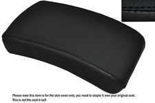 BLACK STITCH CUSTOM FITS YAMAHA XVS 650 DRAGSTAR REAR LEATHER SEAT COVER