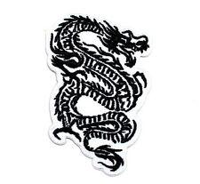 Chinese Dragon Tattoo Motocycle MMA Boxing Punk Bike Rock Jacket Iron on patch
