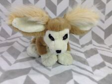"Rare 11"" FENNEC FOX Stuffed Plush Unique Wildlife Animal 2006 K&M International"