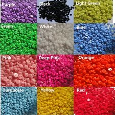 """Assorted 240pcs 12color Resin Sewing Mini Micro diy doll/kid Buttons 5mm 0.2"""""""