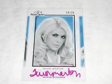 2014 Benchwarmer TALOR MARION #47 HFT Yearbook Pink Auto/25 CSI Fast & Furious