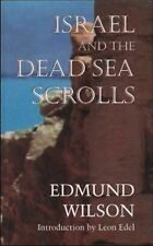 Israel and the Dead Sea Scrolls by Edmund Wilson (2000, Paperback)