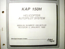 King KAP 150H Helicopter Autopilot System install manual