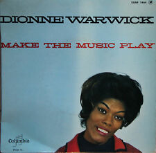"""Vinyle 45T Dionne Warwick """"Make the music play"""""""