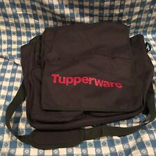 Tupperware Logo Consultant Business Kit Bag with Shoulder Strap Black BRAND NEW